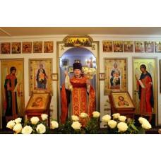 Иконостас ,  храм Почаевской Пресвятой Богородицы