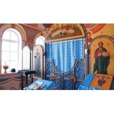 Иконостас,  храм Покрова Пресвятой Богородицы